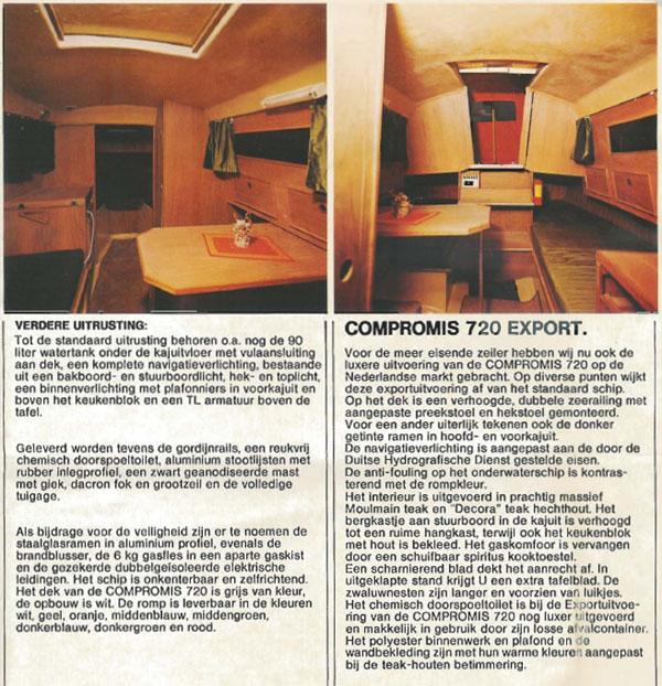 Brochure Compromis 720 2003