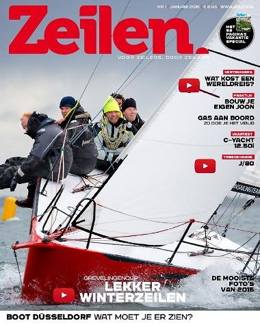 Zeilen test C-Yacht 1250i cover Nr 1 2016